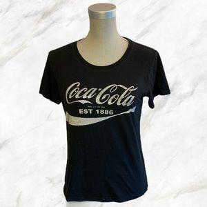4/$30 🌺 Coca Cola | Vintage Inspired Black Tee
